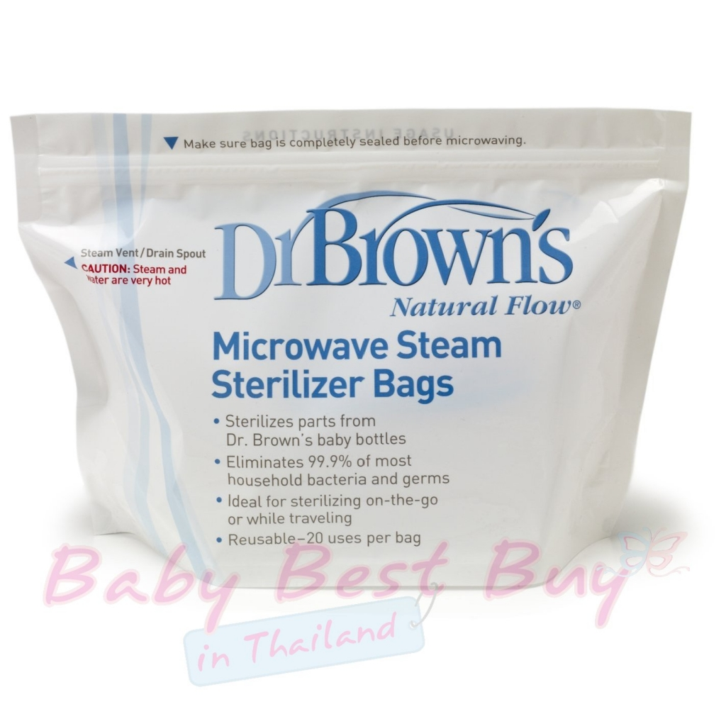 Dr. Brown's Microwave Steam Sterilizer Review | Buy Best baby