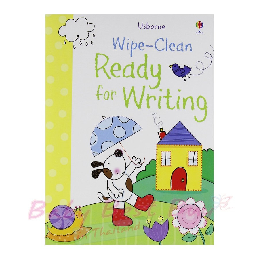 Usborne Wipe Clean Set of 4 - Brand New with Markers