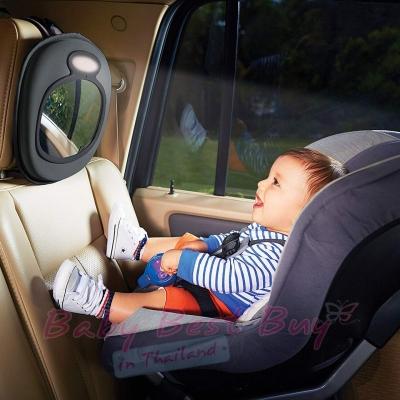 กระจกมองหลัง กระจกติดเบาะหลังรถ กระจกมองเด็กในรถยนต์