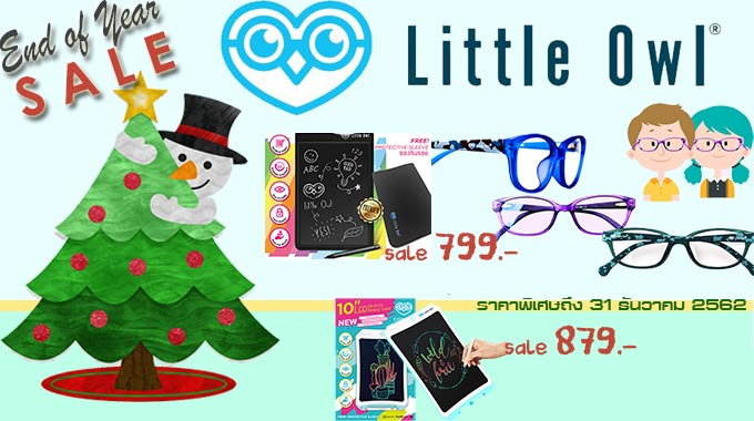 Little Owl Writing Tablet Promotion