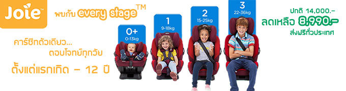 Joie Every Stage Car Seat Promotion